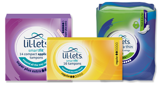 A group of general products from Lil-Lets
