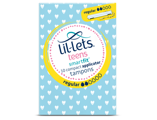 Teens SmartFit™ Applicator Tampons